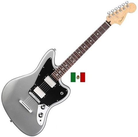 Fender 014-8300-591 - Jaguar Blacktop Mexico