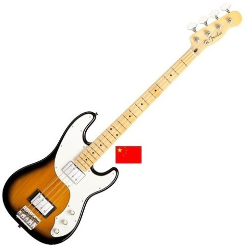 Fender 024-1502-503 - Telecaster Bass Modern Player 2 Humbuckers