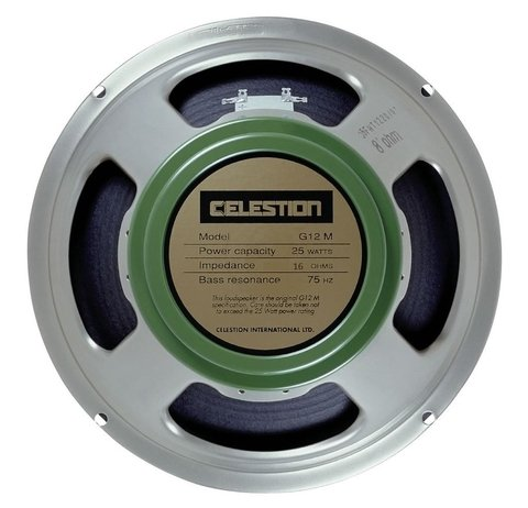 Celestion G-12m Greenback 16 Ohms - 12 Pulgadas/25 Watts