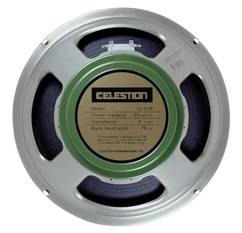 Celestion G-12m Greenback 8 Ohms - 12 Pulgadas/25 Watts
