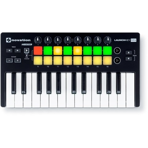 Novation Launchkey mini MK II - Teclado controlador midi USB