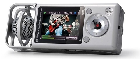 Zoom Q2 Hd Silver - Mini Grabador Digital De Audio Y Video