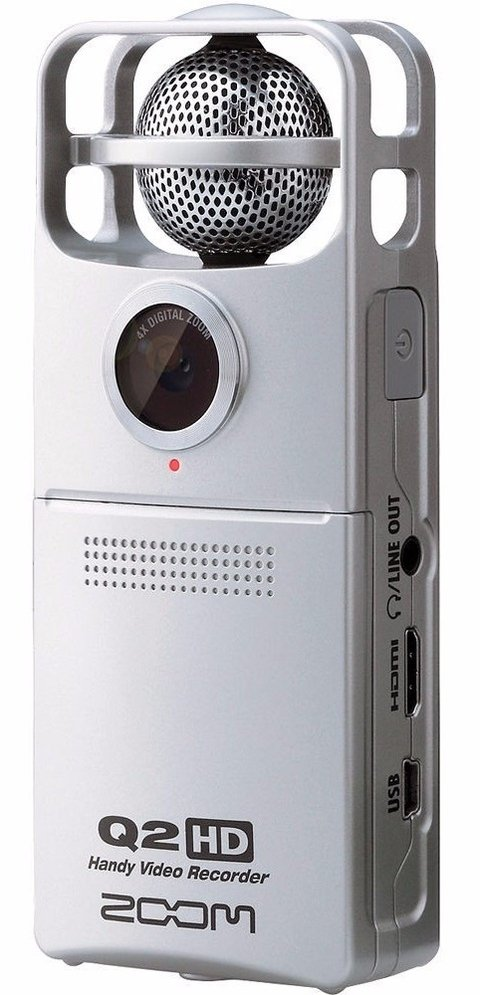 Zoom Q2 Hd White - Mini Grabador Digital De Audio Y Video
