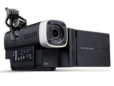 Zoom Q4 - Grabador De Video Hd 1080 - Lcd 2.0 - Livestream