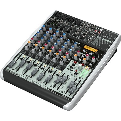 Behringer Xenyx Qx1204usb - 4 Canales Mono / 2 Stereo + Fx