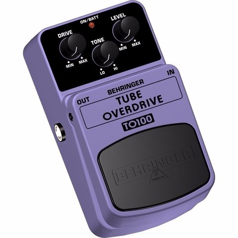 Behringer To100 Tube Overdrive - Pedal Overdrive