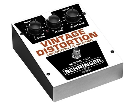 Behringer Vd1 - Pedal Vintage Distortion