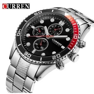 ea0b74ca160 CURREN® 8028 Relógio Masculino Aço Inox Resistente à Água