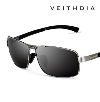 f7f568300 Veithdia* 2490 Óculos De Sol Masculino Polarizado Alumínio