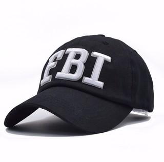 4e8d0432d4 Boné Aba Curva 100% Algodão Bordado F.B.I Police