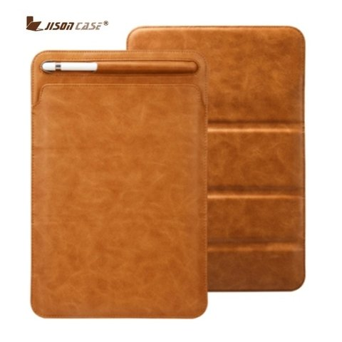 Jison Case* 7934 Capa iPad Couro Pen Holder