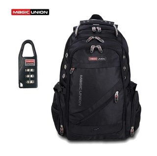 Magic Union* 3741 Mochila Masculina Esportiva + Cadeado Segredo