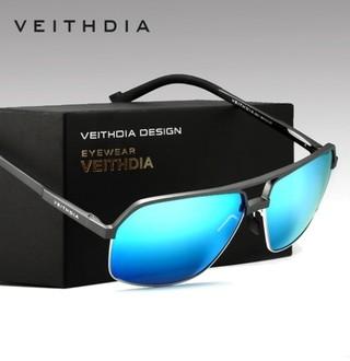 43a92bde5 Veithdia* 6521 Óculos De Sol Masculino Quadrado Alumínio E Magnésio