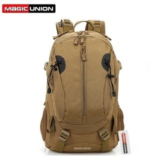 Magic Union* Bp359 Mochila Masculina Lona Militar Ergonômico