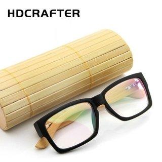 b6727e9eb4ae3 Hdcrafter  2036 Armação De Óculos Masculino Bamboo