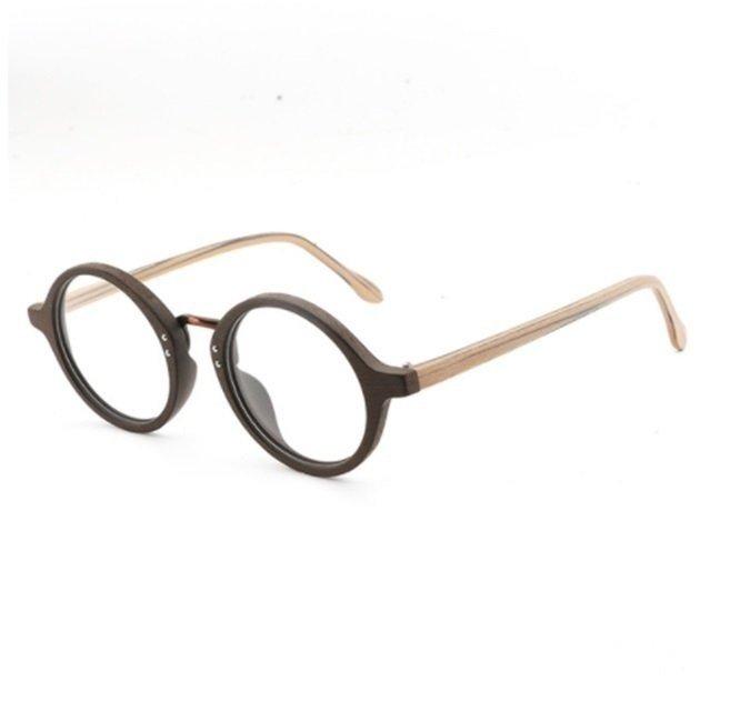 a6fe11570b31a Hdcrafter  0776 Armação De Óculos Masculino Madeira Natural