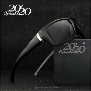 372c18b37 20/20 Optical* Pl48 Óculos De Sol Masculino Acetato Polarizado