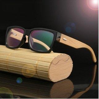 be8d296e2 Hdcrafter* 2036 Armação De Óculos Masculino Bamboo