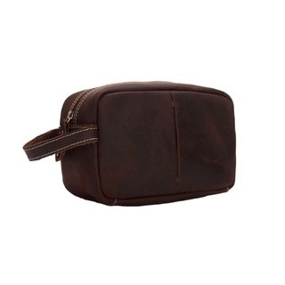 Neweekend* 3331 Necessaire Masculina Couro Genuíno Vintage - Simple Market