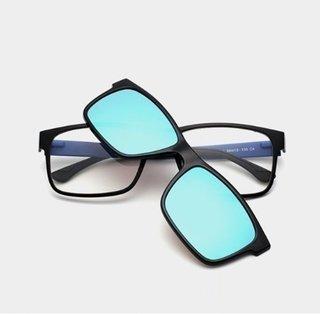 da011ee1a ... Imagem do Liyue  7016 Armação De Óculos Masculino Magnético Com Óculos  De Sol ...