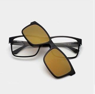 9e8202ee8 Liyue  7016 Armação De Óculos Masculino Magnético Com Óculos De Sol -  comprar online ...