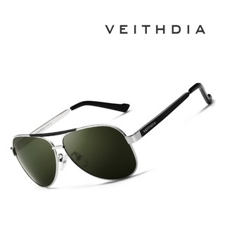 Veithdia  3152 Óculos De Sol Masculino Piloto Polarizado fca74978d6
