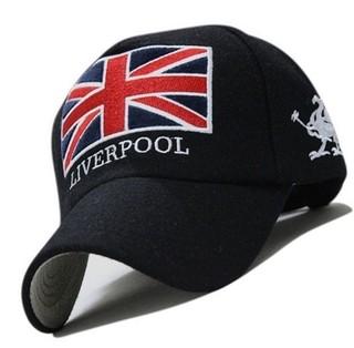 b2308d57b9 Liverpool England Boné Aba Curva Bordado 100% Algodão