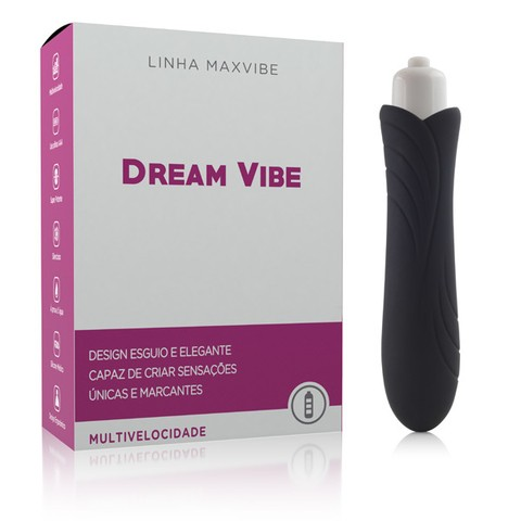 Mini Vibrador Dream Vibe Henry Preto