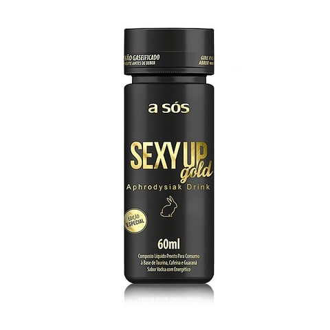 Energético Sexy Up Gold Vodca