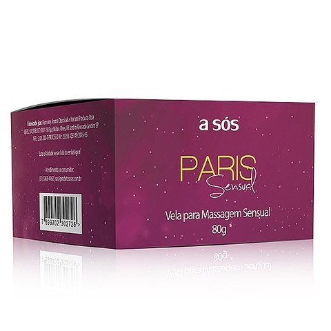 Vela para Massagem Sensual Paris - 80g na internet