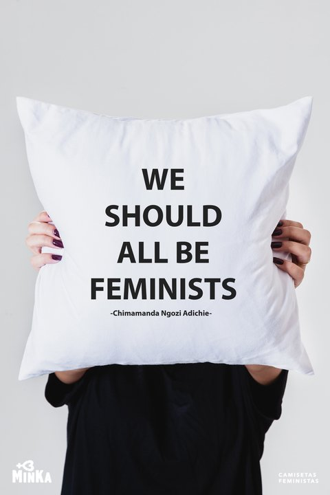 Capa de Almofada We Should All Be Feminists
