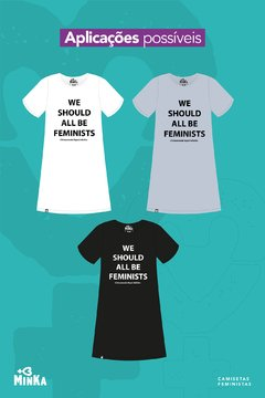 Vestido We Should All Be Feminists - comprar online