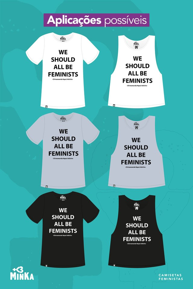 Camiseta We Should All Be Feminists - comprar online