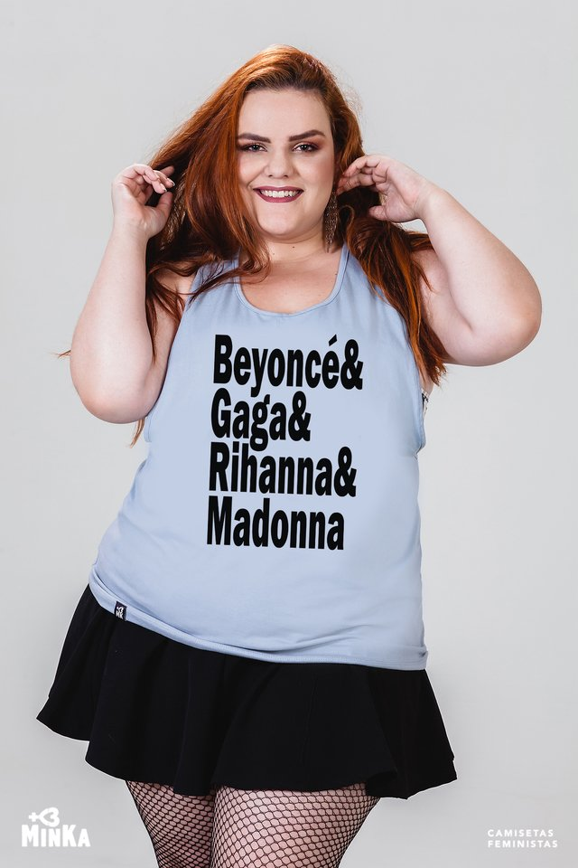 Camiseta Divas do Pop - MinKa Camisetas Feministas