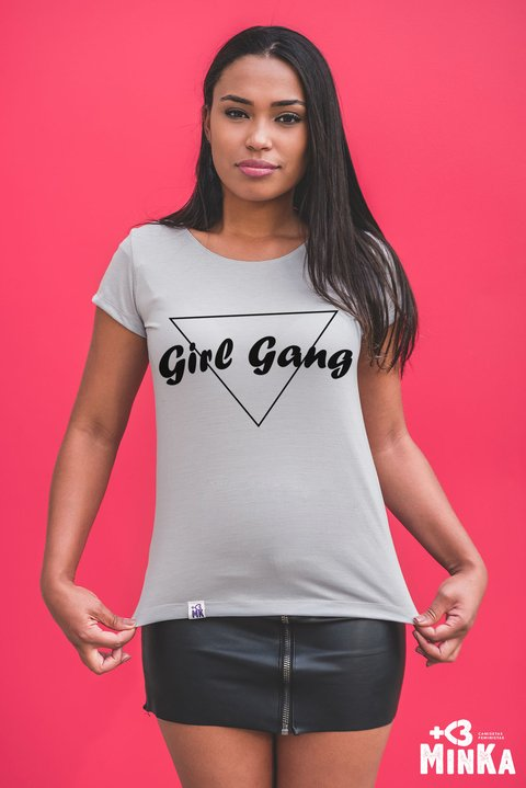 Camiseta Girl Gang