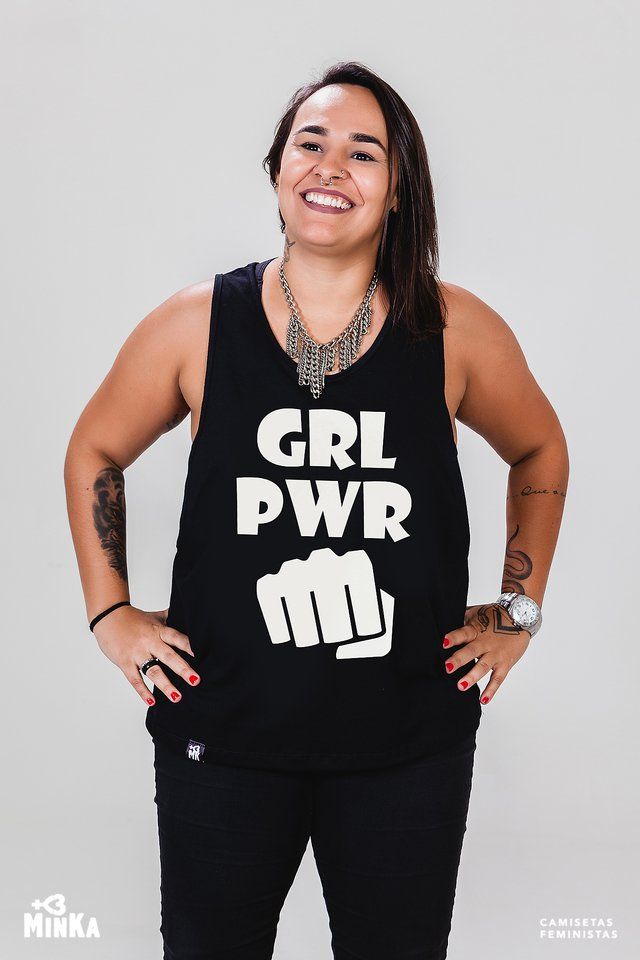 Camiseta Girl Power - MinKa Camisetas Feministas