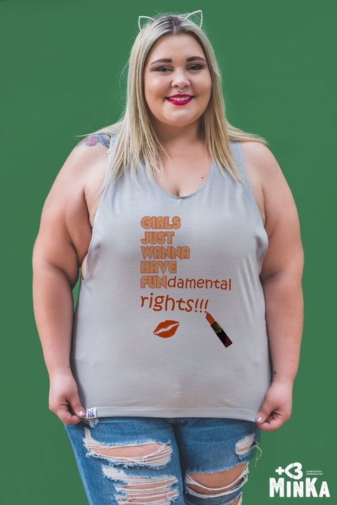 Camiseta Girls Just Wanna Have Fundamental Rights