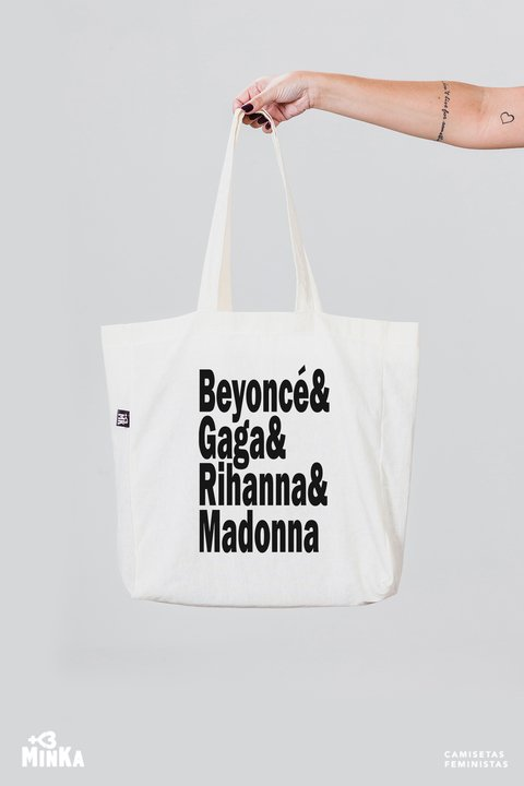 Ecobag Divas do Pop - MinKa Camisetas Feministas