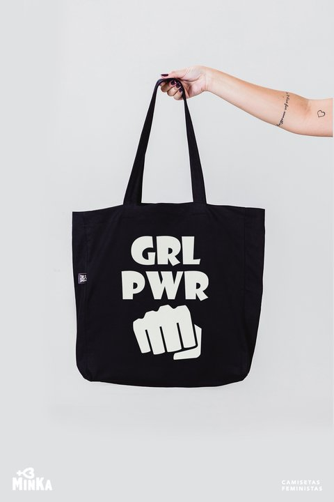 Ecobag Girl Power - MinKa Camisetas Feministas