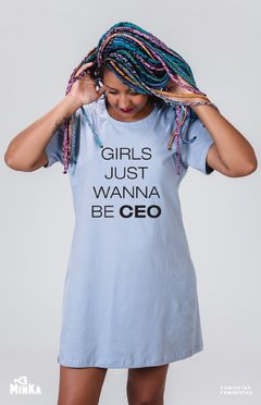 Vestido Girls Just Wanna Be CEO - MinKa Camisetas
