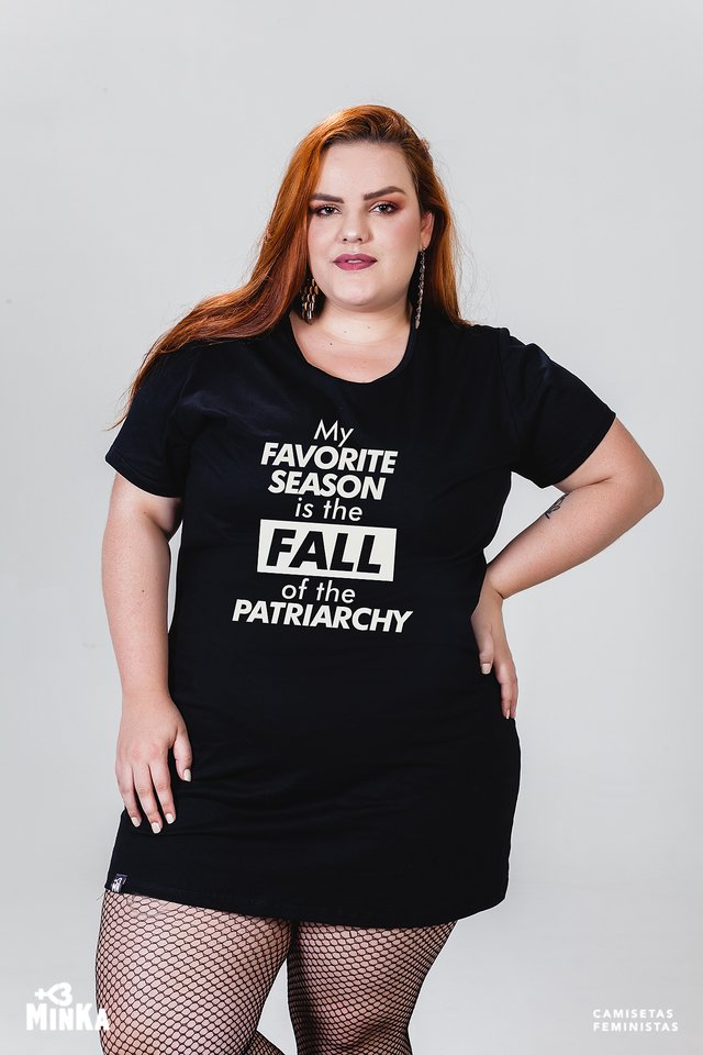 Vestido My Favorite Season Is The Fall Of The Patriarchy - MinKa Camisetas Feministas
