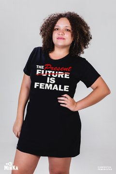 Vestido The Present is Female - MinKa Camisetas Feministas