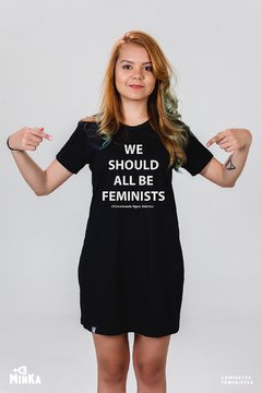 Vestido We Should All Be Feminists - MinKa Camisetas Feministas