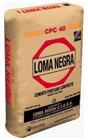 cemento bolsa de 50 kg