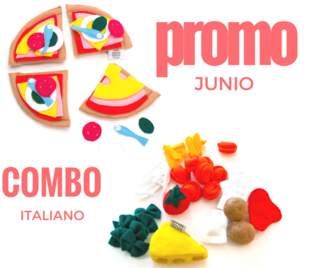 COMBO ITALIANO - Kit Pizza + Kit Pasta PROMO