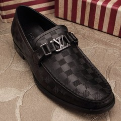 Sapato Louis Vuitton Loafer Major preto