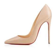 Pump Louboutin Decollete Nude mate 554 100 mm na internet
