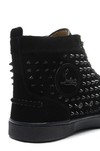 Louboutin Louis Spikes Men's Flat na internet