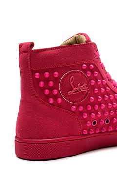 Louboutin Louis Spikes Orlato Men's Flat na internet