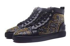 Louboutin Louis Spikes Orlato Men's Flat